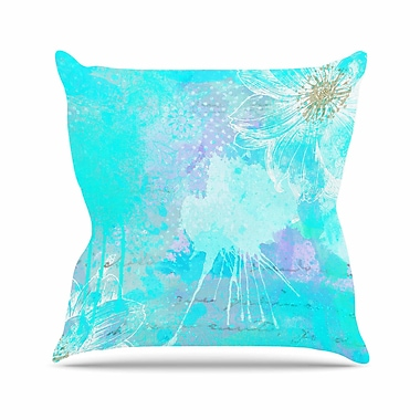 East Urban Home Li Zamperini Vintage Dreams Painting Outdoor Throw Pillow; 16'' H x 16'' W x 5'' D