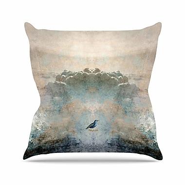 East Urban Home Pia Schneider Heavenly Bird Animals Outdoor Throw Pillow; 16'' H x 16'' W x 5'' D