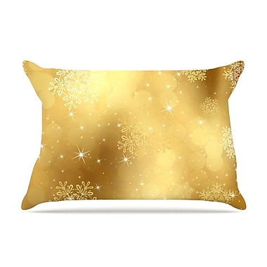 East Urban Home Snap Studio 'Golden Radiance' Pillow Case