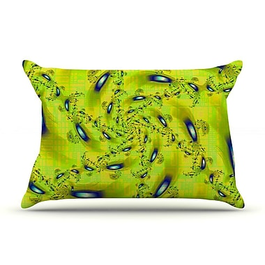 East Urban Home Michael Sussna 'Synchronized Swimming' Pillow Case