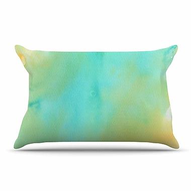East Urban Home Li Zamperini 'Mint' Pillow Case
