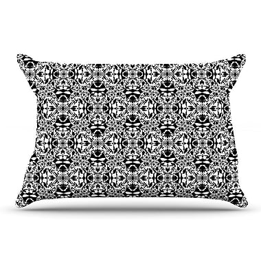 East Urban Home Mydeas 'Diamond Illusion Damask' Pillow Case