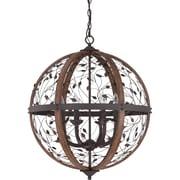 One Allium Way Campeaux Cage 6-Light Globe Pendant