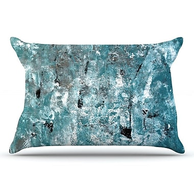 East Urban Home CarolLynn Tice 'Shuffling' Pillow Case