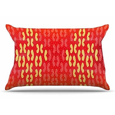 East Urban Home Dan Sekanwagi 'Butterfly Elements' Pillow Case