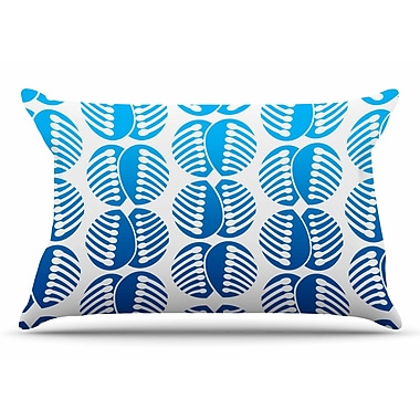 East Urban Home Dan Sekanwagi 'Poddy Combs' Pillow Case