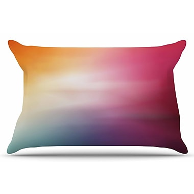 East Urban Home Chelsea Victoria 'Color Rush' Love Pillow Case