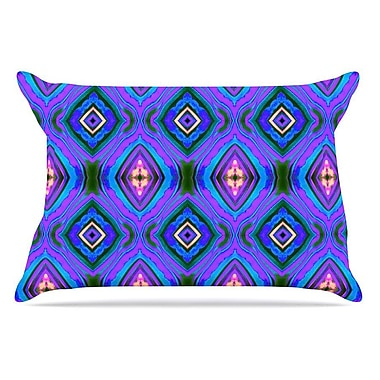 East Urban Home Anne LaBrie 'Dark Diamond' Pillow Case
