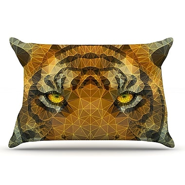 East Urban Home Ancello 'Be Wild' Geometric Pillow Case