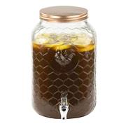 Gracie Oaks Annalise Rooster Beverage Dispenser