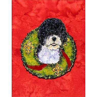 Caroline's Treasures 2-Sided Garden Flag; Portuguese Water Dog