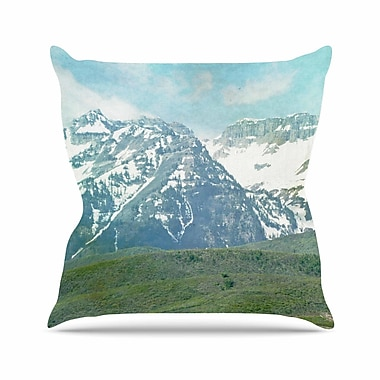 East Urban Home Sylvia Coomes Mountains Nature Outdoor Throw Pillow; 16'' H x 16'' W x 5'' D