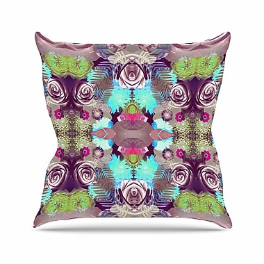 East Urban Home Vasare Nar Kaleidoscopic Boho Outdoor Throw Pillow; 18'' H x 18'' W x 5'' D
