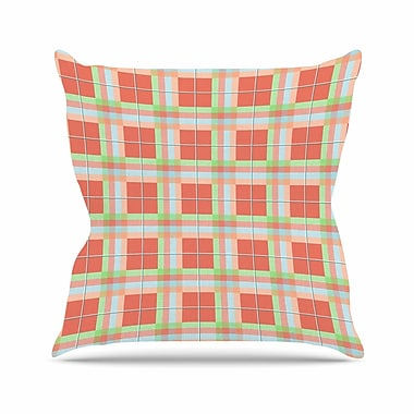 East Urban Home Afe Images Summer Outdoor Throw Pillow; 16'' H x 16'' W x 5'' D