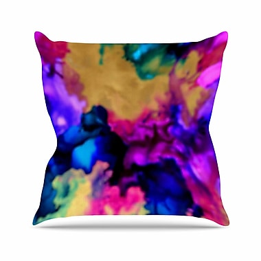 East Urban Home Claire Day Lovely Outdoor Throw Pillow; 16'' H x 16'' W x 5'' D