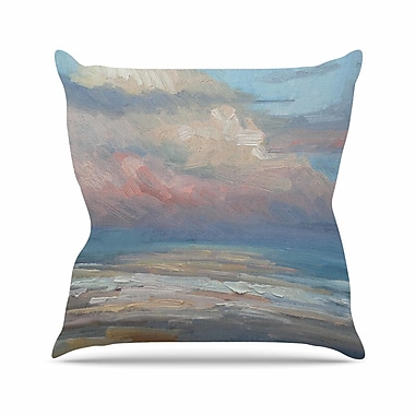 East Urban Home Carol Schiff Clouds Outdoor Throw Pillow; 16'' H x 16'' W x 5'' D