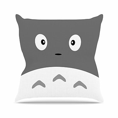 East Urban Home Jackie Rose My Neighbor Animal Outdoor Throw Pillow; 16'' H x 16'' W x 5'' D