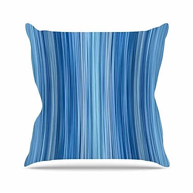 East Urban Home Bruce Stanfield Ambient #1 Digital Outdoor Throw Pillow; 18'' H x 18'' W x 5'' D