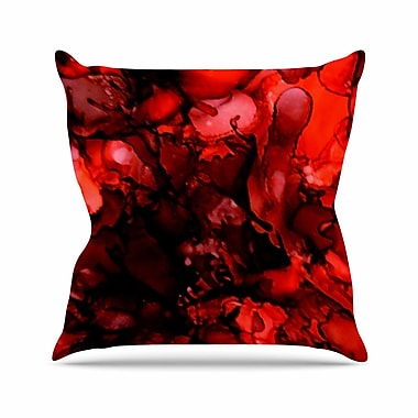 East Urban Home Claire Day Outdoor Throw Pillow; 16'' H x 16'' W x 5'' D