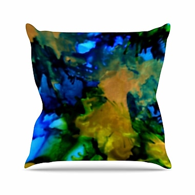 East Urban Home Claire Day Relax Outdoor Throw Pillow; 18'' H x 18'' W x 5'' D