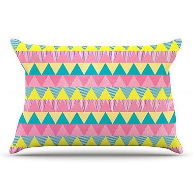 East Urban Home Louise Machado 'Triangles' Pillow Case