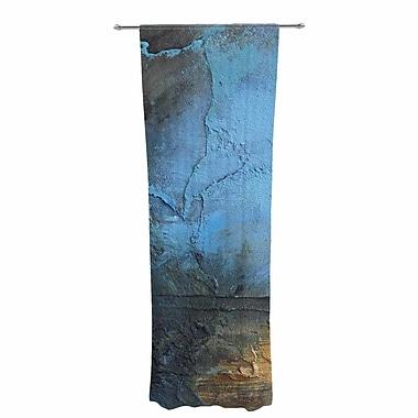 East Urban Home Carol Schiff Moon Glow Abstract Sheer Rod Pocket Curtain Panels Panels (Set of 2)