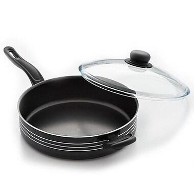 Cook Pro Excel Steel Non-Stick Skillet w/ Lid