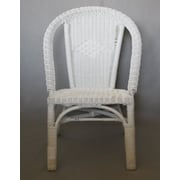 Highland Dunes Robbyn Wicker Bistro Curve Arm Chair