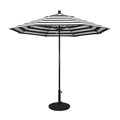 California Umbrella 9' Market Umbrella; Classic WYF078279565064