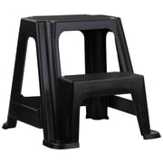 Home Basics 2-Step Plastic Step Stool