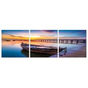 Red Barrel Studio 'Living By The Ocean' Photographic Print Multi-Piece Image on Canvas
