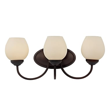 Red Barrel Studio Willowbrook 3-Light Wall Sconce
