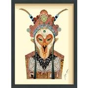 World Menagerie 'Beijing Opera Mask #1' Framed Graphic Art Print
