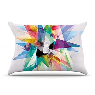 East Urban Home Mareike Boehmer 'Colorful' Rainbow Abstract Pillow Case