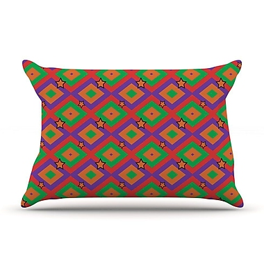 East Urban Home Empire Ruhl 'Super Stars' Geometric Pillow Case