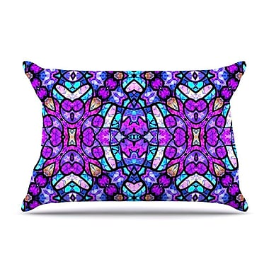East Urban Home Art Love Passion 'Kaleidoscope Dream Continued' Pillow Case