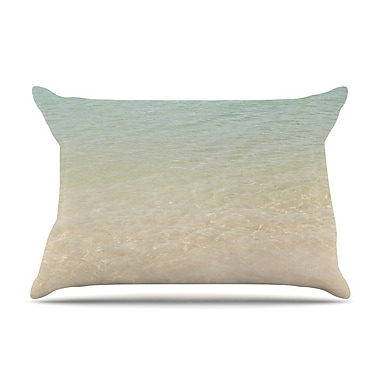 East Urban Home Catherine McDonald 'Sea' Beach Photography Pillow Case