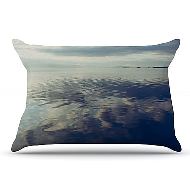 East Urban Home Ann Barnes 'Cloud Atlas' Water Pillow Case