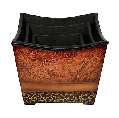Cheungs 3-Piece Manufactured Wood Pot Planter Set