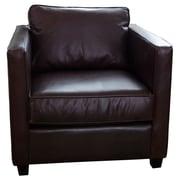 Elements Fine Home Furnishings Urban Top Grain Leather Standard Armchair