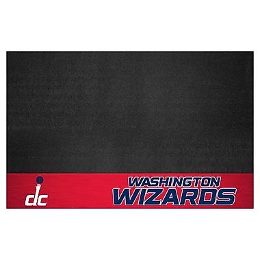 FANMATS NBA Grill Utility Mat; Washington Wizards