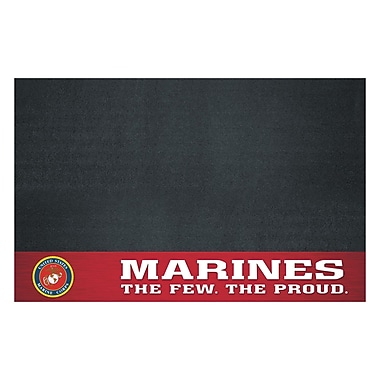 FANMATS US Armed Forces Utility Mat; Marines