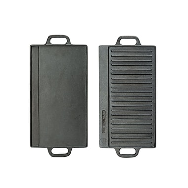 Cal-Mil Double-Sided Cast Iron Griddle