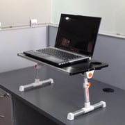 Stand Steady 12.8'' H x 19.75'' W Standing Desk Conversion Unit; Silver