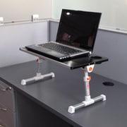 Stand Steady 12.8'' H x 19.75'' W Standing Desk Conversion Unit; Blue