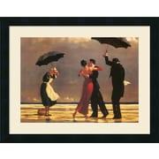 Alcott Hill The Singing Butler Framed Painting Print