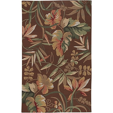 Bay Isle Home Wallingford Hand-Woven Light Cocoa Indoor/Outdoor Area Rug; 3'6'' x 5'6''