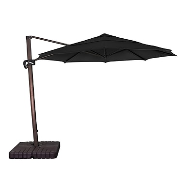 Buyers Choice 11' Phat Tommy Cantilever Umbrella; Black