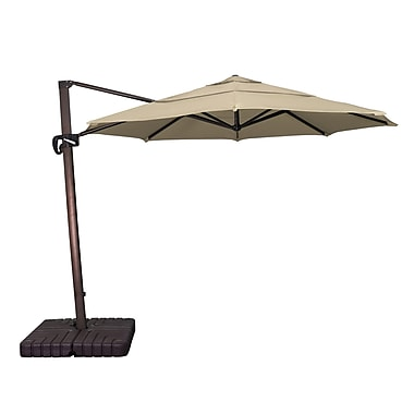 Buyers Choice 11' Phat Tommy Cantilever Umbrella; Antique Beige
