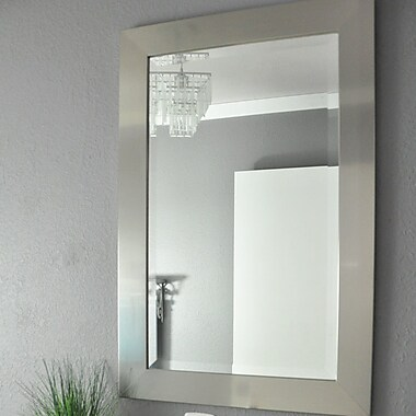 Latitude Run Wall Mirror; 35.5'' H x 23.5'' W x 0.75'' D